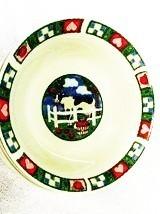 Barnyard Cereal Bowls by Gibson - $12.99