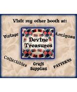 Devine Treaures - Vintage, Collectibles, Craft Supplies, and Patterns - $999.99