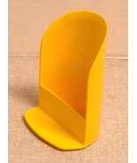 Tupperware Kitchen Gadget #292-16 Yellow Flour/Sugar Rocker Scoop - $6.95