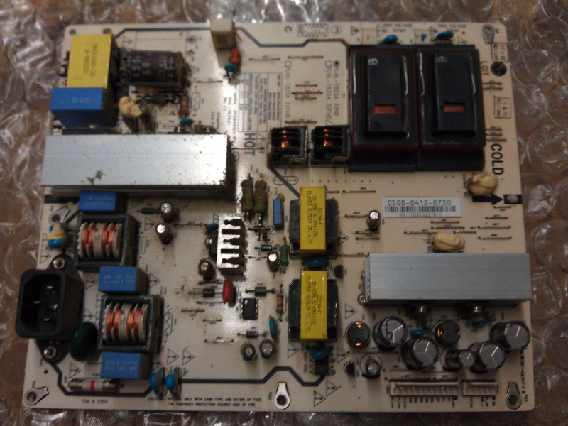 0500-0412-0730 Power Supply Board From Vizio E321VL VO320E LCD TV