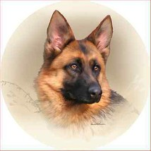 German Shepherd Accent Magnet - $9.95