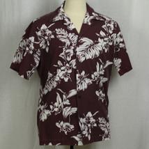 Hilo Hattie Short Sleeve Hawaiian Camp Aloha Floral Shirt 100% Cotton Sz... - $23.38