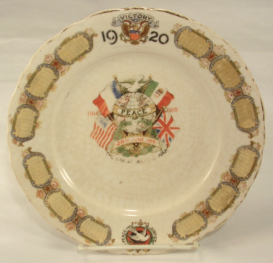 Mcnicholww1commemorativeplate1