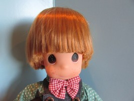 "Precious Moments collectible Doll ""andy"" children  14"" - $26.93"