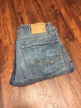 AMERICAN EAGLE Straight Leg Classic Rise Blue Denim Jeans Men's Size 31 ... - $507,43 MXN