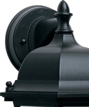 15h Westlake 1-Light Outdoor Wall Mount Black - $59.00