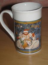 CHRISTMAS COFFEE FROSTY FRIENDS MUG/CUP-SNOWMAN-POLAR BEARS-RABBIT-RED B... - £3.89 GBP