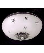 Vintage 1930s Art Deco Ceiling Light Shade 10 i... - $44.95