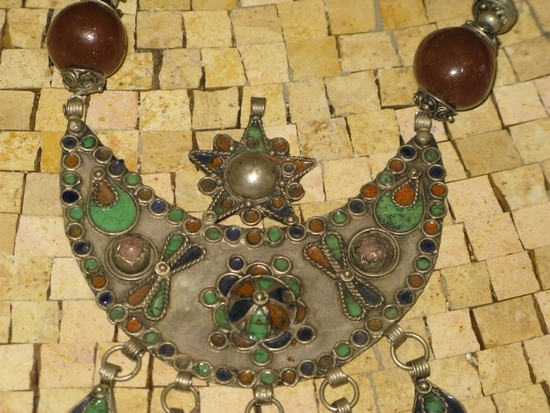 Tuareg necklace-Antique necklace Morocco- Vintage necklace - Antique necklace