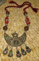 Tuareg necklace-Antique necklace Morocco- Vintage necklace - Antique nec... - $295.00