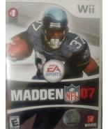 Madden NFL 07 Wii - $5.95