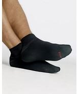 Men's Hanes 6 Pack of Cushion Ankle Black Socks... - $15.81