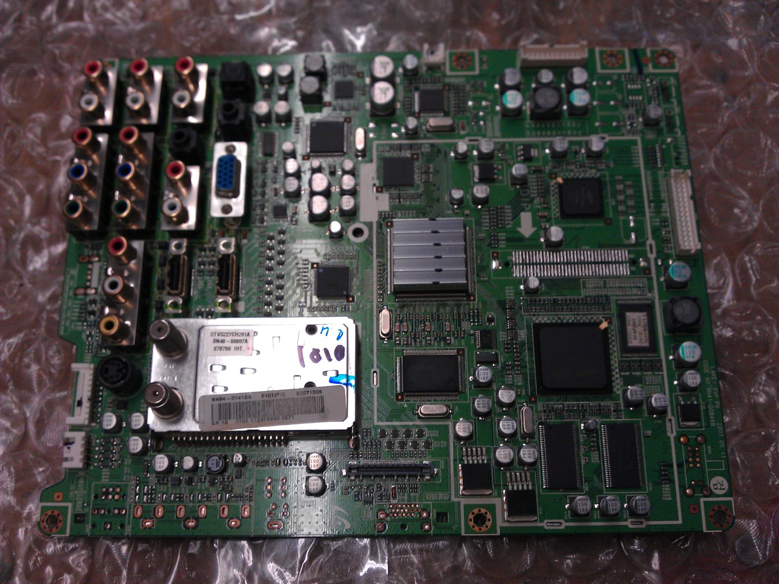 BN94-01418A Main Board From Samsung HPT5054X/XAAR LCD TV