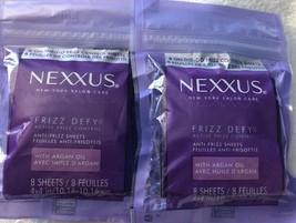 Lot Of 2 Nexxus Frizz Defy Anti-Frizz 8 Sheets - 16ct - $19.34