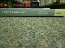 2011 MITSUBISHI Lancer Evolution Electrical Supplement Service Repair Manual NEW image 2