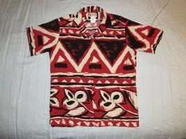 Hilo Hattie Hawaiian Southwest Pattern Button Up Shirt Sz M Beachwear Va... - $21.99