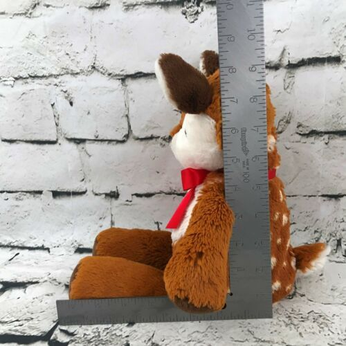 Mary Meyer Deer Fawn Plush Brown Spotted Floppy Stuffed Animal Soft Crib Toy