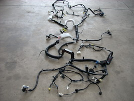 2012 MAZDA REAR BODY WIRING HARNESS FROM DASH TO TAIL BHA3-67-0S0C image 2