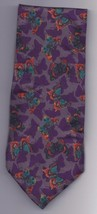 "Perry Ellis 100% silk Tie 58"" long 3 1/2"" wide Butterfiles - $9.50"