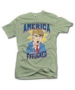 AMERICA YOU'RE FFF**KED! FUNNY ANTI-TRUMP SHIRT 6X Herb Men's Tee (6.1oz) - $26.73