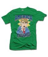 AMERICA YOU'RE FFF**KED! FUNNY ANTI-TRUMP SHIRT 6X Irish Green Men's Tee... - $26.73