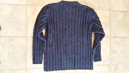 FILA SPORT Crewneck Sweater Men's M 88%wool 6% cotton 6% silk Qulaity wa... - $25.00