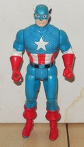 1990 Toy Biz Marvel Super Heroes Captain America Action Figure - $9.50