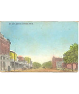 Main Street Smith Center Kansas  1911 Post Card - $5.00