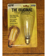 Feit 60-Watt Vintage ST19 Incandescent Light Bulb - Classic Filament Design - $8.75