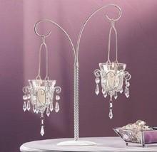 """Mini-Chandelier Votive Stand Centerpiece 17"""" (Single) Wedding Supplies 3... - $24.00"""