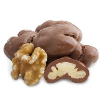 MILK CHOCOLATE WALNUTS, 5LBS - $47.91