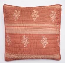1 Sonoma Pembrook Life Style Euro Pillow Sham New Coral Nwop - $306,76 MXN