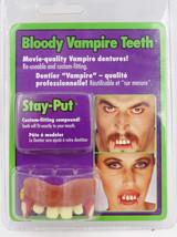 New Bloody Vampire Teeth Halloween Costume Dentures # Rubies 2423 - £5.70 GBP