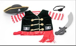 Melissa and Doug Pirate Costume Role Play Set , New, Free Shipping - $29.69