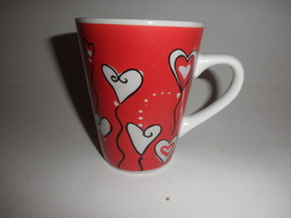 hearts coffee cup - $9.84