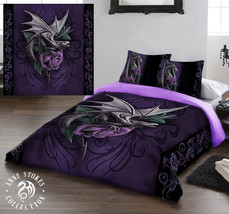 DRAGON BEAUTY - Duvet and Pillows Covers Set / Size fit / Kingsize  - $112.16
