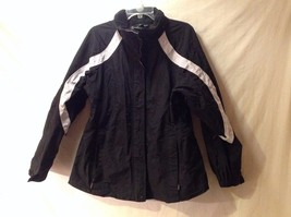 Women's Eastern Mountain Sports EMS Winter Coat Jacket Black Gray Durable