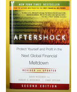 Aftershock, Financial Meltdown, David Wiedemer, HB DJ, 2nd Ed, stocks, c... - $1.99