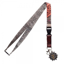 Assassin's Creed Game Movie Logos Lanyard with Logo Charm and Sticker NE... - $10.65