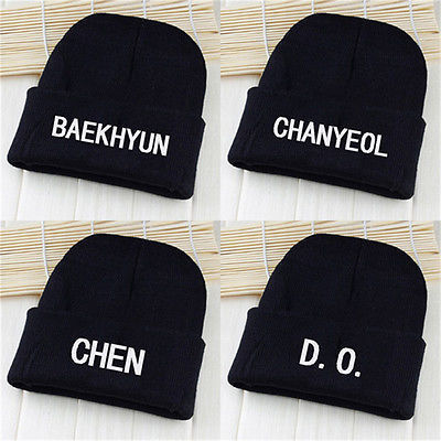 acdca25635d KPOP EXO Cap Knit Beanie Chanyeol Hat Unisex and 28 similar items. 1