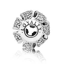 925 Sterling Silver Essence Loyalty Charm Bead For Essence Bracelet - €15,98 EUR