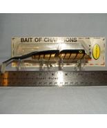Fred Arbogast 7 1/2 inch Golden Tiger AC Plug F... - $12.95