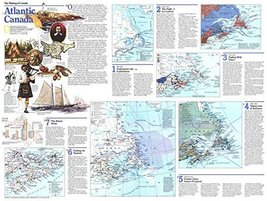 Reproduction of a poster presenting - Canada - Atlantic 2 (1993) - A3 Poster ... - $22.99