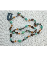 Cookie Lee Genuine Turquoise Necklace - Item #82115 - New! - $15.00