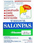 SALONPAS Pain Relief Patch Plaster Stiffness Tightness Neck Shoulder 20 ... - $3.99
