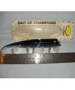 Fred Arbogast 7 1/2 inch Blue Tiger AC Plug Fre... - $12.95