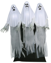 Haunting Ghost Trio Animated Prop 6' Lifesize Halloween Scary Spooky MR1... - £156.80 GBP