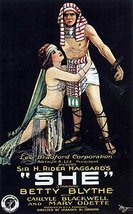 Reproduction of a poster presenting - She 1916 - A3 Poster Prints Online... - $22.99