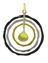 Latest model design 925 sterling silver lemon quartz gemstone pendant SH... - $25.53