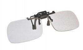 Magna-flip Clip on Flip up Magnifiers, +4.00  Power Converts Distance Gl... - $13.93